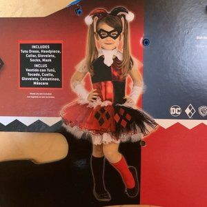 Harley Quinn Halloween Costume Girls